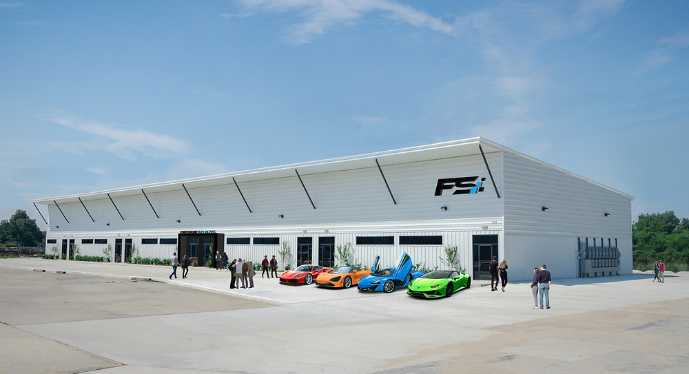 Freedom Supercars Houston Clubhouse
