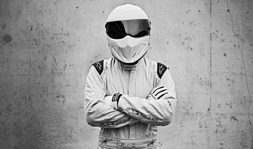 The Stig's Racing Helmet