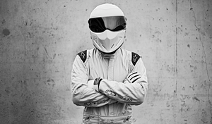 The Stig's Racing Helmet