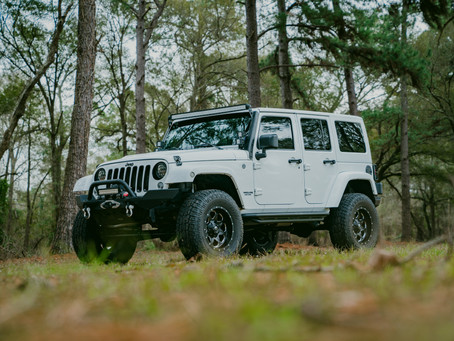 2017 Jeep Wrangler Gets Gold Package To Prevent Mud Build Up