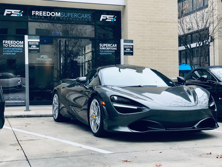 2019 McLaren 720S Gets A Ceramic Pro Gold Package + Full Interior Package