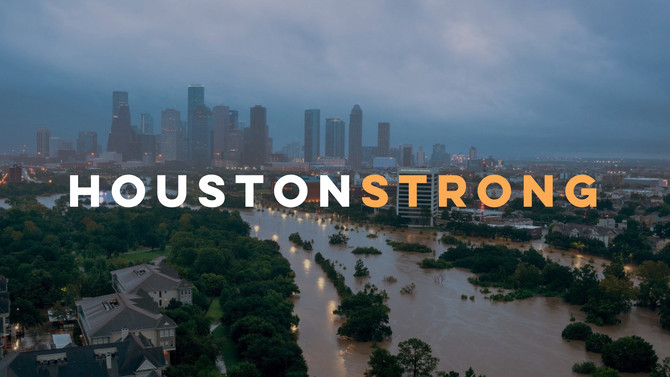#HoustonStrong After Hurricane Harvey