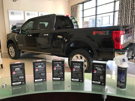 2018 Ford F250 King Ranch Gets a Ceramic Pro Gold Package + Fender Coverage