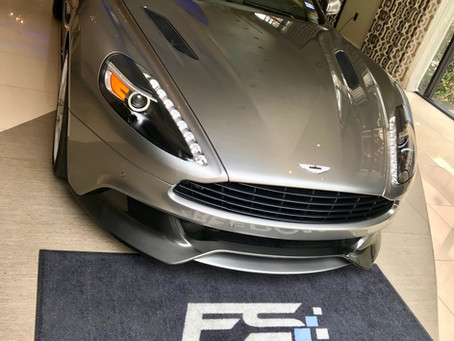 2018 Aston Martin Vanquish Applied With Ceramic Pro Gold Package + Full Interior Package