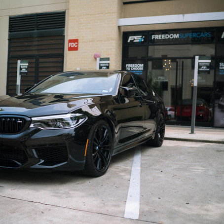 2019 BMW M5 Competition Edition Gets A Ceramic Pro Silver Package