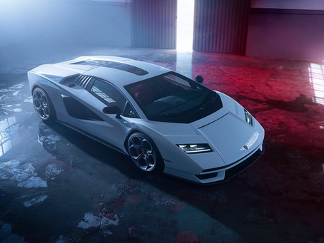 Meet the 800HP Redesigned Lamborghini Countach