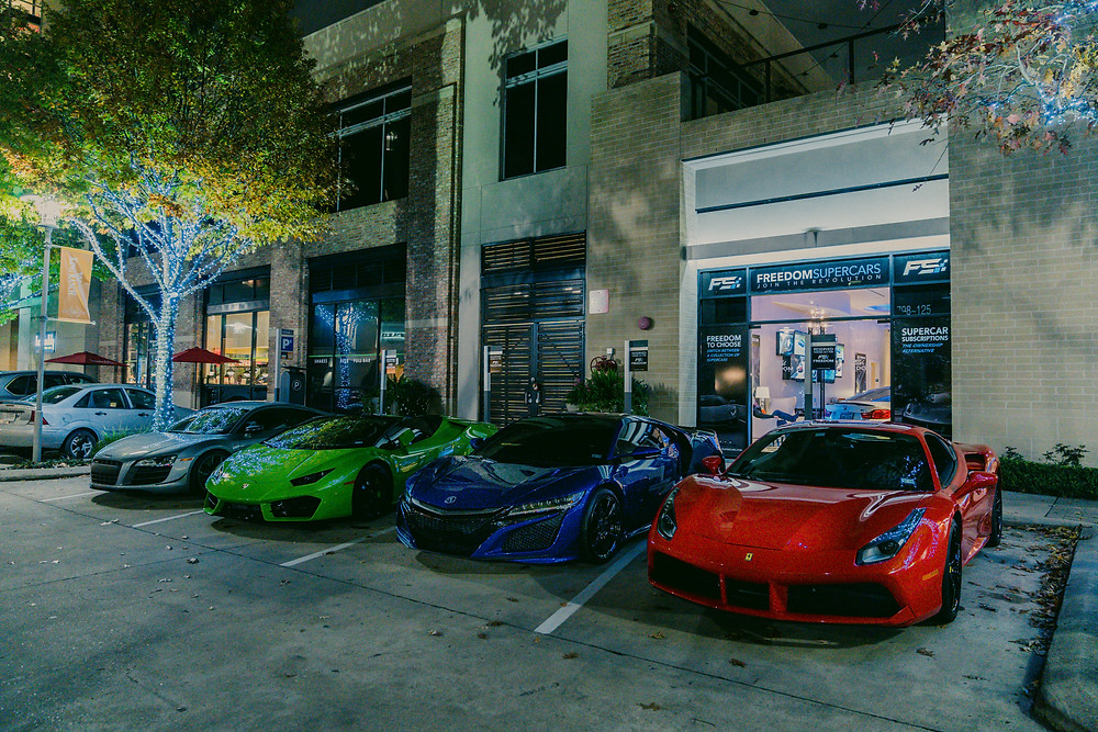Freedom Supercars CityCentre