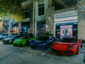 SUPERCARS TAKEOVER THE STREETS OF HOUSTON