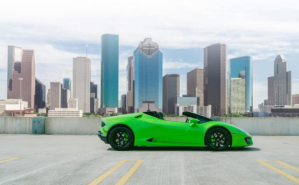 Lamborghini Huracan Spyder Houston