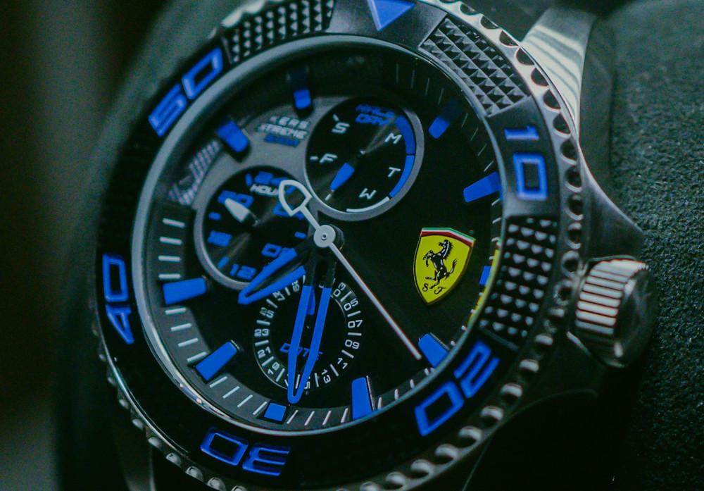 Ferrari Watch Blue