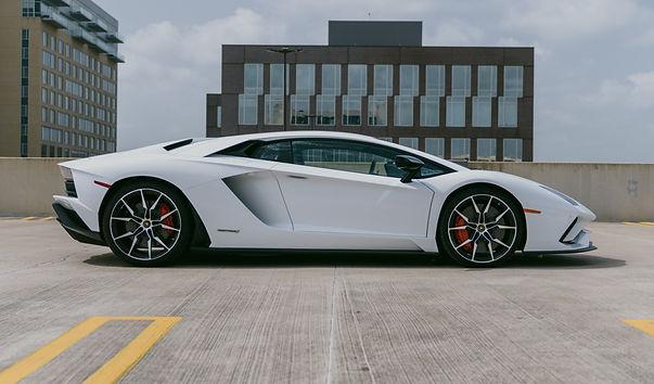 Lamborghini Aventador S White