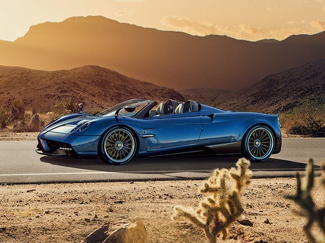 THE PAGANI HUAYRA ROADSTER REVEALED