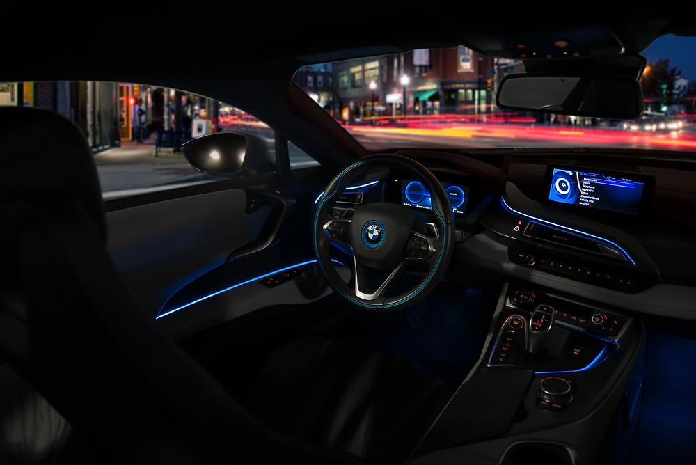 BMW i8 Lights