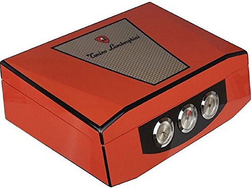 copy of Lamborghini Humidor - Holds 75 Cigars - Digital Hygrometer