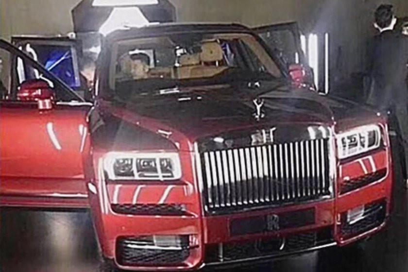 Rolls Royce Cullinan spy