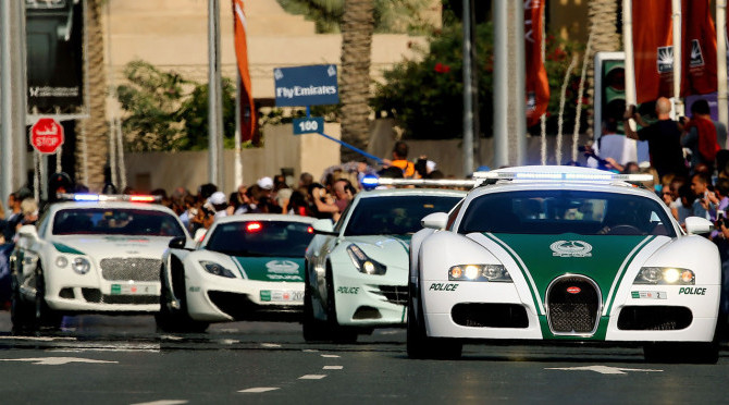 DUBAI'S MOST BADASS POLICE VEHICLES