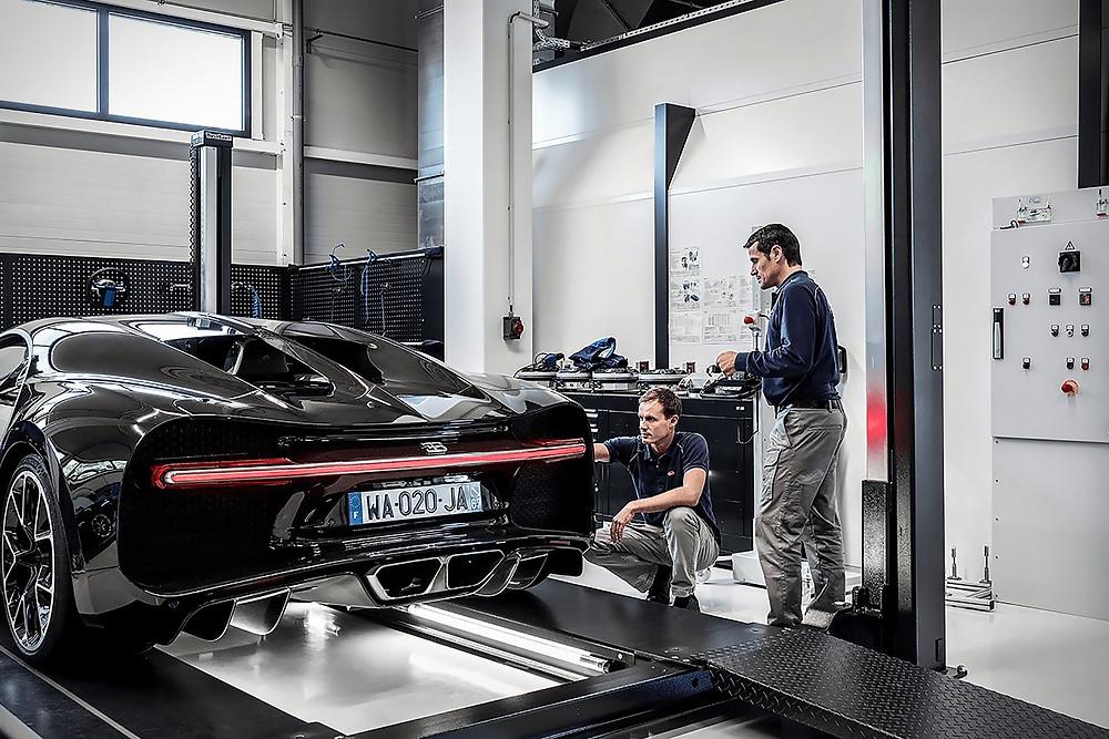 Bugatti Team Service