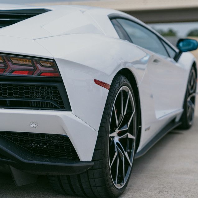 Lamborghini Aventador S tail lights