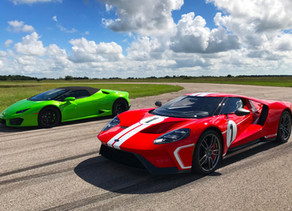 RACING WITH HENNESSEY PERFORMANCE
