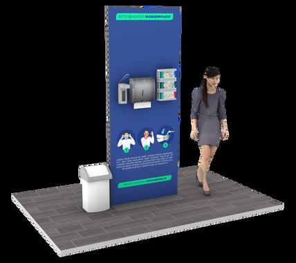 hygieneständer meter