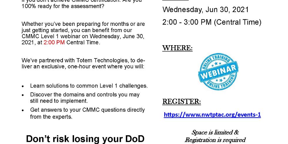 CMMC Level 1 Training