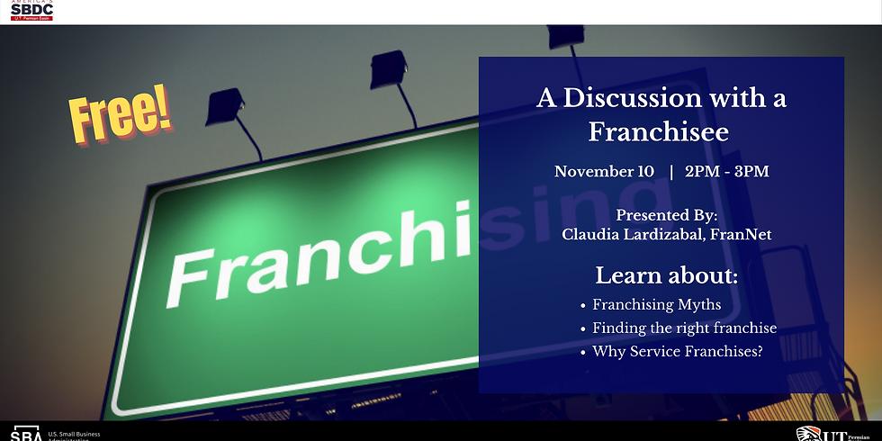 A Discussion with a Franchisee