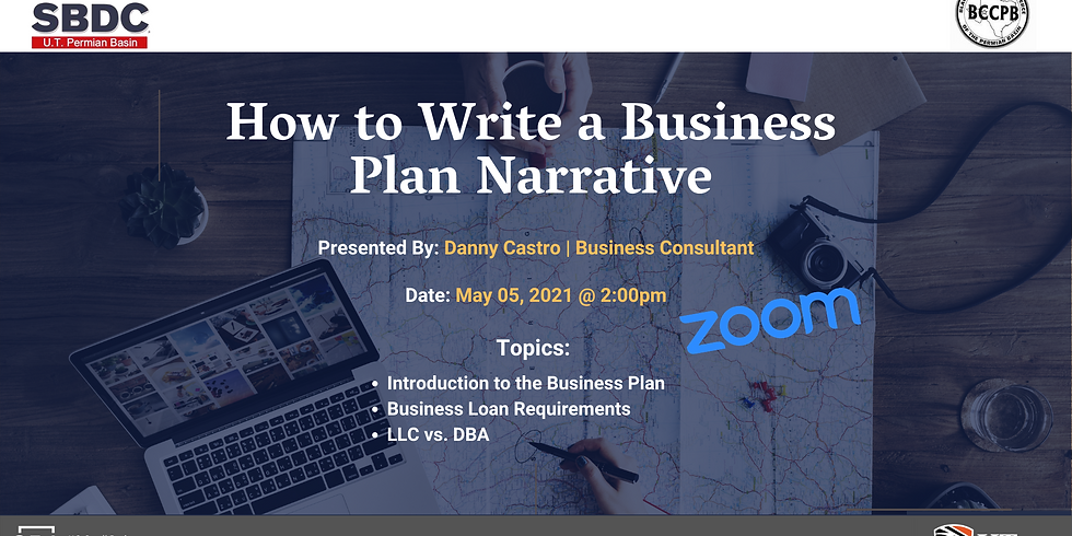 How to Write a Business Plan Narrative