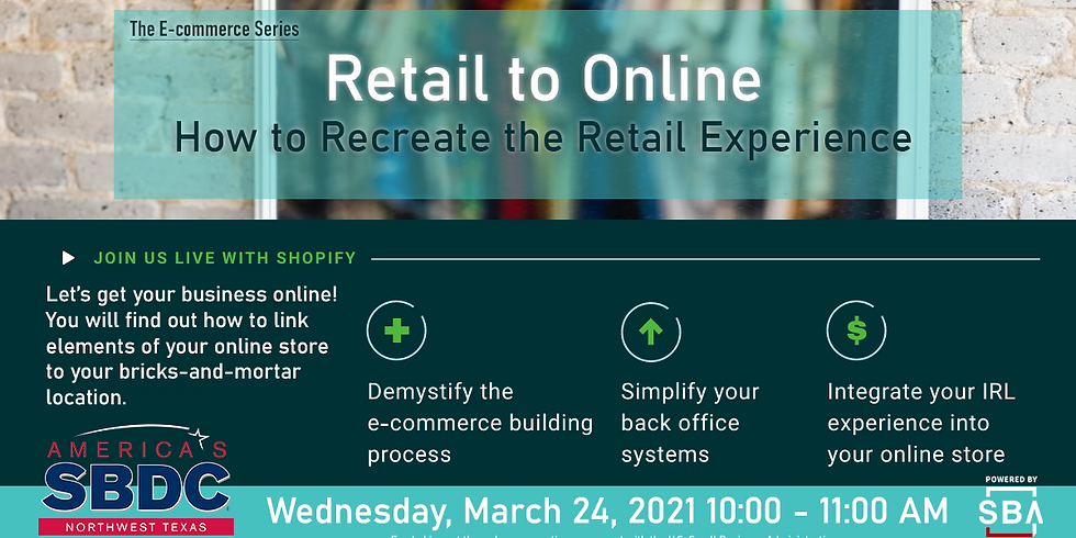eCommerce Series: Retail to Online