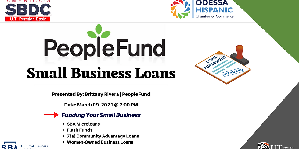 PeopleFund: Small Business Loans
