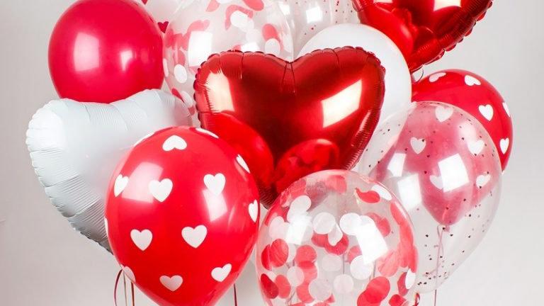 Ассорти - сердечки и шарики с сердечками - 10/15 - 25 шт.