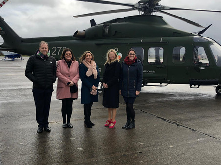 Higgins hails Air Corps support in 2018
