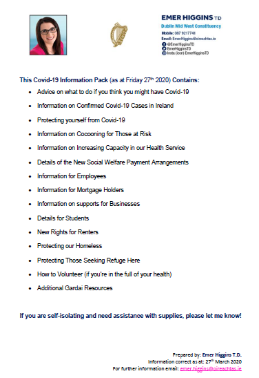Covid-19 Information Pack