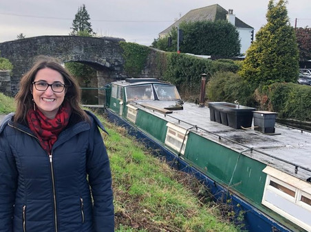 Higgins Welcomes Grand Canal Greenway Plans