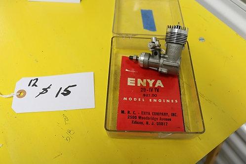 Enya 19-V model 4005 engine