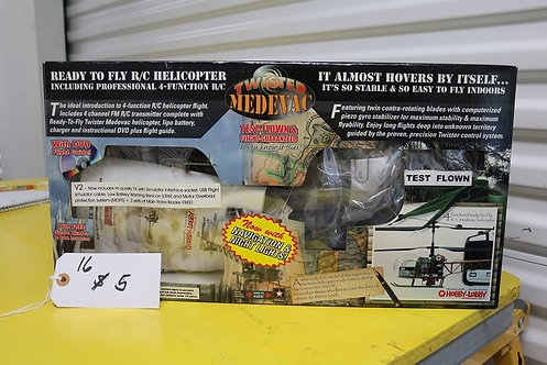 Twister medevac helicopter (in box)
