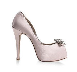Daisy春瀾漫雪紡花朵宴會鞋・RS160322(Pink)