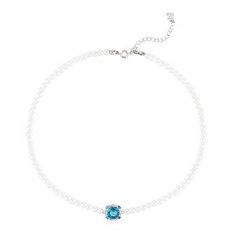 Blue Marble Pearl Choker頸鍊・NICMNK03