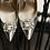 Thumbnail: Iro經典典雅方鑽飾品(銀色)・IA160111(Silver)