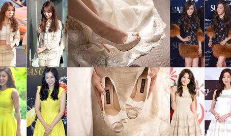韓星李荷妮、Tiffany、孝淵等出席紅毯活動時所穿的鞋