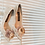 Thumbnail: 第二代古典浪漫玫瑰花飾・IA160913(Pink)