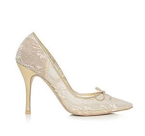 Ellen高跟婚鞋・RS170314(Gold)