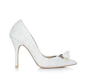 Olivia蕾絲派對鞋・RS151223(Ivory)