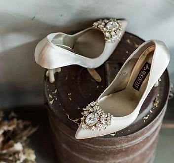 Jolie 施華洛世奇奢華宴會鞋・RS180518(Beige)