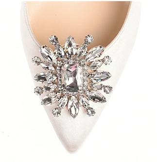 時尚矢車菊鑽飾・IA161106(Silver)