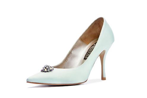 Blossom 施華洛世奇小水鑽宴會鞋・RS190410(Green)
