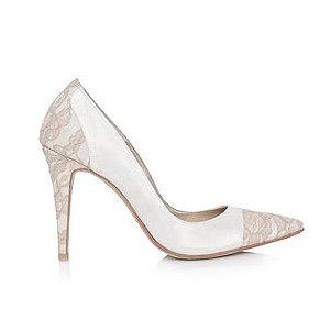 Gwyneth蕾絲時尚婚鞋・RS150416(Ivory)