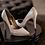 Thumbnail: POPI環鑽尖頭緞面高跟鞋・GS170419