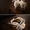 Thumbnail: 雛菊鑽石蕊心繞踝帶 ・IA141014(Ivory)