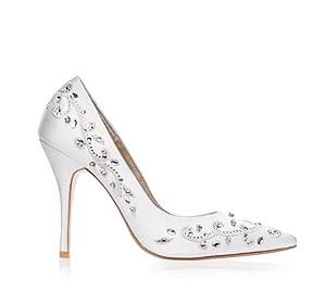 Eva華麗圖騰婚鞋・RS171022(Ivory)