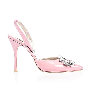 Margot霧銀時尚派對鞋・RS160314(Dark pink)